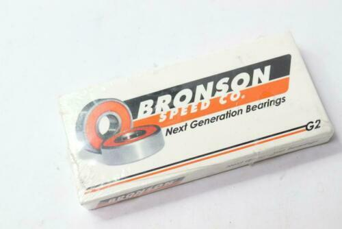 Bronson Speed Co. Next Generation Skateboard Bearings G2 8-Pack