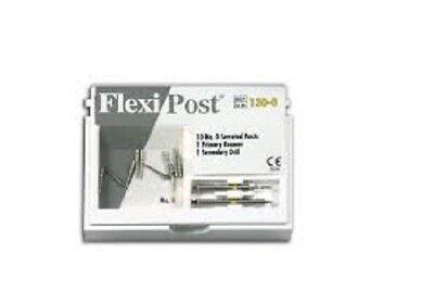 Flexi Post Eds Yellow 0 Stainless Steel Post Refill 10pkg - 130-0
