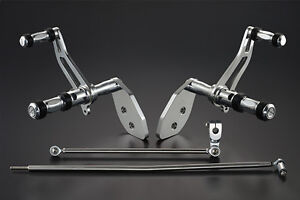 BILLET ALUMINUM FORWARD CONTROLS 2000-2013 HARLEY DYNA LOW RIDER FXDL