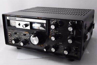 AS-IS YAESU FT-200S 80-10M Vintage and TRANSCEIVER HF HAM RADIO #1106