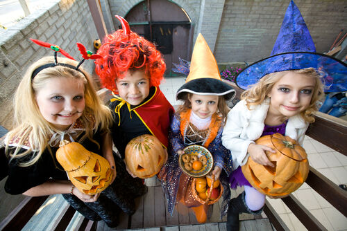 Transform your little angels into little monsters this halloween