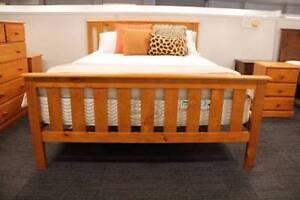 Queen Pine Bedroom Suite Aspley Brisbane North East Preview