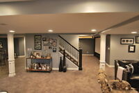 MOULDING / COFFERED CEILING / BASEMENT RENOVATIONS AND MORE!