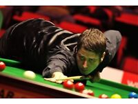 World Snooker Tickets Sunday 22nd 7pm - Watch BOTH tables Matthew Stevens v Kyren Wilson Fu v Lyu!!