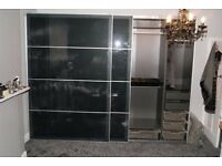 Sliding wardrobe doors Pax ikea W:2500mm x H:2360mm DOORS ONLY!!!""