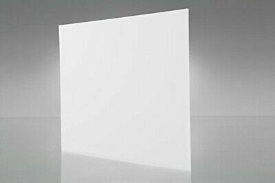 Acrylic White Translucent Plexiglass 18 X 24 X 48 Plastic Sheet 7328