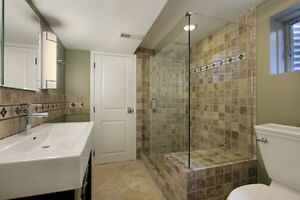 3pc Renovate Bathroom from $1800 New Build from$2800