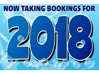 2017 & 2018 BOOKINGS BEING TAKEN - 8 BERTH TO LET ON MARTON MERE IN BLACKPOOL
