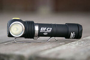 Armytek Elf C1 Micro-USB+18350 / Elf C2 Micro-USB+18650 Li-Ion