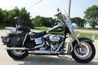 Green Harley-Davidson Touring