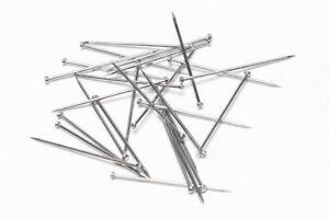 Steel Dressmaker Straight Pins - 2,000 Pins