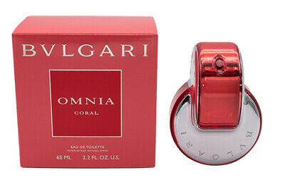Omnia Coral by Bvlgari EDT Perfume for Women 2.2 oz Brand New In Box