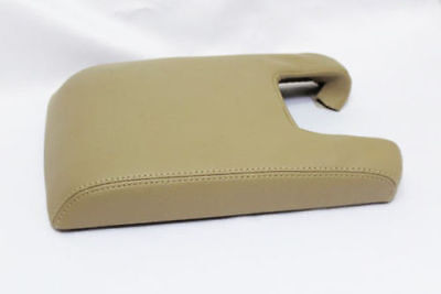 Armrest Center Console Lid Cover Real Leather For 09-14 Acura TL Beige