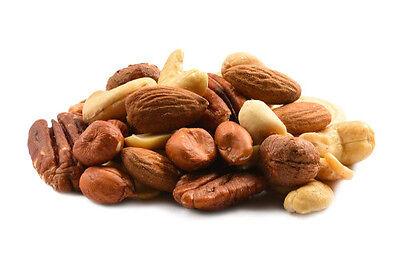 - Raw Mixed Nuts 3lb bulk deal - no added salt