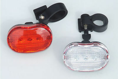 Bike lights are required by law if you are cycling in the dark
