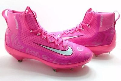 Nike Max Air Huarache 2KFikth Elite Promo Sample Cleats Mothers Day Pink SZ 16