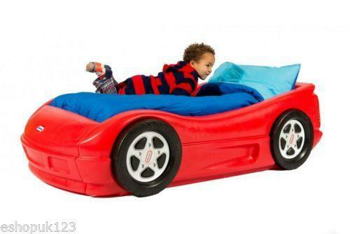 Little Tikes Blue Car Bed: Little Tikes Car Bed