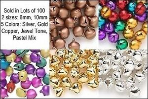 Wholesale-LOT-1000-JINGLE-BELLS-Mix-from-5-Colors-2-Sizes-Beads-Charms
