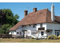 Chefs at all levels required for rural pub, 20 minutes from Ashford, Faversham & Maidstone