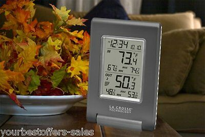 La Crosse Technology Weather Station Temperature Sensor Outdoor Thermometer New