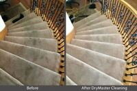 Drymaster Carpet Cleaning/ $25 per area