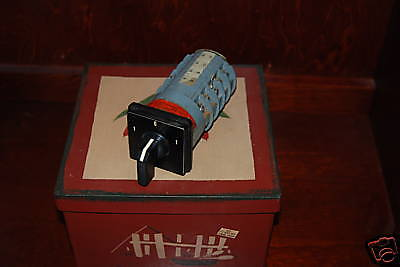 Rotary Switch Square D Type K4I 1054D 3 position