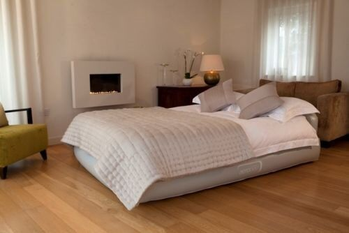 Airbed, Aerobed Comfort Raised King Size Airbed With Headboard ...