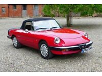 Alfa Romeo Spider 1600 (red) 1990