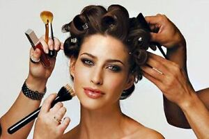 Wedding Hairstyling and Makeup