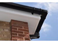 Guttering Cleaned - New UPVC Facias Soffits or Refurbished Existing Wooden Facias