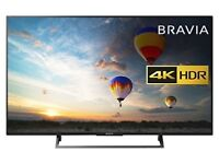 Sony Bravia KD49XE8004 49 inch TV (4K HDR Ultra HD, Android TV - Black (2017 Model)