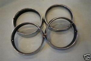 1971 Mopar Cuda Headlight Bezels