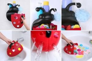 Ladybug Bath Toy Holder