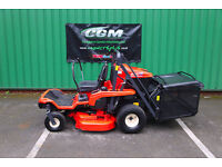Kubota GZD 15 Zero-Turn Ride-on Mower with High Tipping Collector