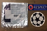 Sporting ID Official UEFA Champions League Patch Badge Respect Starball 2012/18