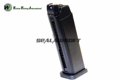 WE 24rds Airsoft Toy Gas Magazine For WE Marui G17 G18 G18C Series GBB Black 030, used for sale  Shipping to Canada