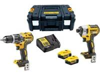 DeWalt 18v impact driver and drill