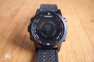Garmin waypoint navigation watch without charger