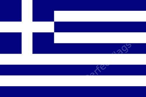 GREECE FLAG - GREEK NATIONAL FLAGS - Hand, 3x2, 5x3, 8x5 Feet