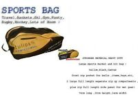 New Sportsbag Travel,Tennis,Squash, Bargain with small fade marks