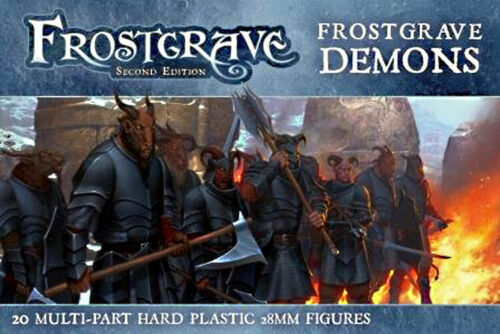 Frostgrave Demons 1 sprue 5 models 28mm