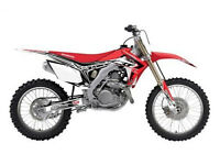 New Honda CRF 250 R 14-17 CRF 450 R 13-16 FLU PTS3 Graphics Sticker Decals Kit