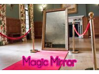 Amazing Magic Mirror Photo Booth Selfie Pod - Wedding, Party & Event Hire