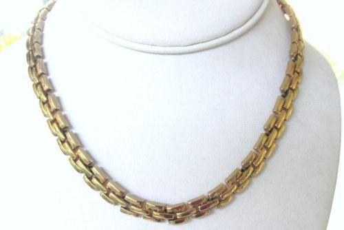 trifari gold necklace ebay On is trifari jewelry real gold
