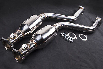 BMW E46 M3 & CSL 3,2l 100 Cell Sports catalytic converter cat Downpipe Exhaust