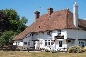 Chef's at all levels for award winning pub - 20 minutes from Faversham, Maidstone & Ashford