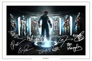 Iron Man Signed