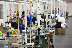 Industrial Sewing Machine Operators Wanted