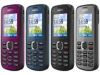 Nokia C1-02 BASIC MOBILE PHONE UNLOCKED SIM FREE MP3 FM