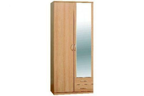 door sliding mirrored wardrobe ebay